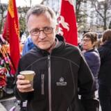 Solidariteten er i skred ved overenskomstforhandlingerne i Forligsinstitutionen i København. En ekspert vurderer, at Anders Bondo Christensen (billedet) og lærerne risikerer at blive overladt til sig selv.