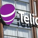 Telia, der er Nordens største teleselskab, er ved at fylde pengekassen godt op forud for nye opkøb i Norden og de baltiske lande. Arkivfoto: Kimmo Brandt, EPA/Scanpix