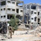 Syriens militær erklærer de syv dages våbenhvile overstået og nævner ikke, hvorvidt den vil blive fornyet.