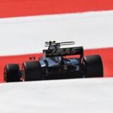 Et muligt Formel 1-løb kan være på trapperne i København i 2020. Her er danske Kevin Magnussen i hans Haas-Ferrari racer under træningen til det østrigske Grand Prix forleden.