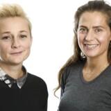 »Jeg vil gerne give noget af mig selv, men man skal holde en balance mellem at være personlig og ikke privat,« siger Andrea Elisabeth Rudolph (til højre), til værten Ane Cortzen i podcasten »Succes Kriteriet«.