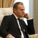 EU-præsident Donald Tusk understreger, at det ikke løser noget at ekskludere Grækenland fra Schengen-samarbejdet:
