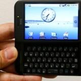 Sådan ser mobilstyresystemet Android ud på en HTC-telefon. Foto: Vivek Prakash, Reuters/Scanpix