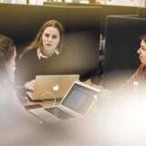 Studerende på KUA, Københavns Universitet Amager.