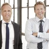 3Shape-stifterne Nikolaj Deichmann og Tais Clausen