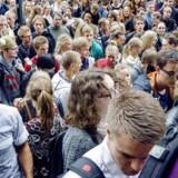 ARKIVFOTO fra første skoledag på Københavns Universitet i august 2013.