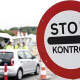 Grænsekontrollen fanger ikke alt. Mange udenlandske kriminelle kommer tilbage over den danske grænse på trods af indrejseforbud. (Foto: Claus Fisker/Scanpix 2017)