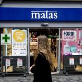 Arkivfoto. Butikkerne er presset af hård konkurrence på markedet - primært inden for personlig pleje til hverdagsbrug, skriver Matas i regnskabet. (Foto: Liselotte Sabroe/Scanpix 2017)