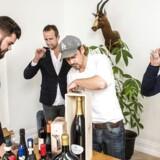 Folkene bag Winefamly Morten Strunge, Thomas Pedersen, Thomas Hermann og Rasmus Jensen.