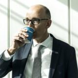 Portræt af bestyrelsesformand i PostNord, Jens Moberg