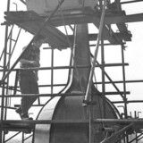 Den Reformerte Kirke i Gothersgade, tårnet repareres
