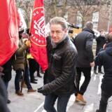 De statsligt ansattes chefforhandler Flemming Vinther ved forligsinstitutionen Sankt Annæ Plads 5 i København torsdag den 1. marts 2018.