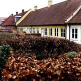 Arkivfoto: Rækkehuse i Frederiksværk.