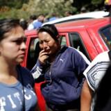 19 personer er døde efter en brand på børnehjemmet Virgen de la Asunción i udkanten af Guatemala City. REUTERS/Saul Martinez