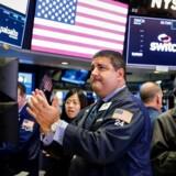 Det amerikanske aktiemarkeder sluttede ugen af i plus. REUTERS/Brendan McDermid