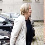 Anklageren Karen Vistisen ankommer til Østre Landsrets afdeling i Nykøbing Falster onsdag d. 17 maj 2017.
