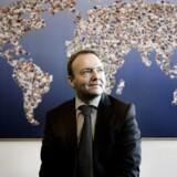 Jeff Gravenhorst, CEO the Danish company ISS.