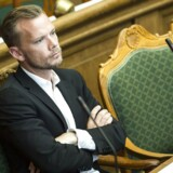 Peter Hummelgaard (S) i folketingssalen.