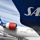 Arkivfoto. SAS havde ved udgangen af oktober fløjet med lige 29 mio. passagerer over de seneste 12 måneder. Det er 378.000 flere, end Norwegian har lagt kabine til