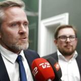 LA-leder Anders Samuelsen vil ikke kommentere DF-krav, men anerkender, at det er rejst i forhandlingerne.