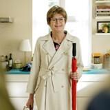 Simpelthen: Grethe dukker op og redder kernefamilien i TV2s nye serie. Foto: Agnete Schlichtkrull.