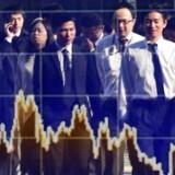Alle afventer udfaldet af de to centrale pengepolitiske møder i henholdsvis den amerikanske forbundsbank, Federal Reserve, og den japanske centralbank, Bank of Japan. Arkivfoto.