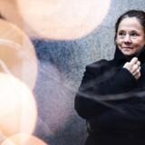 """Pernilla August, svensk forfatter og skuespillerinde, er aktuel med filmen """"Den alvorsfulde leg""""."""