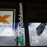 Arkivfoto: Danske Andelskassers Banks Hovedsæde på Viborgvej i Hammershøj.