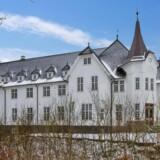 Det historiske slot Grøngrøft Slot.