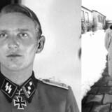 Den danske nazist Søren Kam. Til venstre i SS-uniform under Anden Verdenskrig , hvor han bl.a. var officer på Østfronten, og til højre fotograferet i 1978 i Bayern, hvor han efter krigen slog sig ned, stiftede familie og arbejdede som salgschef på et bryggeri.