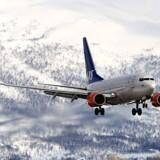 SAS havde fremgang i juni, hvor antallet af passagerer voksede 20 procent. Free/Colourbox/arkivfoto