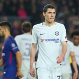 Chelsea-stopperen forlader den danske landsholdslejr. Reuters/Albert Gea