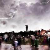 Her ses, hvad vi alle frygter. Nyt site gør det let at overskue vejrprognosen under Roskilde Festivalen.