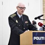 »Det har været et godt møde, hvor der var lejlighed til at rydde nogle misforståelser af vejen,« siger Jens Henrik Højbjerg om mødet i Politiforbundets forhandlingsudvalg.