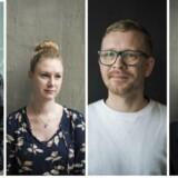 Yifan Vestergård, Mie Vangsted Vrængmose, Mads Ehrhorn, Helle Christensen.