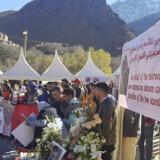 Maren Ueland og Louisa Vesterager Jespersen blev fundet dræbt nær landsbyen Imlil i Marokko. Løvland, Marianne/Ritzau Scanpix