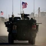 Er det mon umuligt for EU at samarbejde med USAs militær om deres forsvar af Syrien, spørger Henning Jensen.