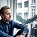 Familieterapeut Mattias Stølen Due fotograferet på sit kontor i København.