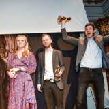 Eva Jung, Simon Bendtsen og Michael Lund fra Berlingske har vundet Cavlingprisen 2018 for deres afsløringer af hvidvaskskandalen.