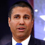 Formanden Ajit Pai ved en konference i National Harbor, Maryland. REUTERS/Joshua Roberts/File Photo