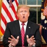 Præsident Trump gik natten til onsdag dansk tid på landsdækkende TV og slog til lyd for den grænsemur mod Mexico, som han mener, USA har brug for.