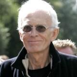 Tidligere forstander for Tvind, Mogens Amdi Petersen efter at Byretten i Ringkøbing torsdag 31. august 2006 havde frikendt ham for anklagerne for bedrageri.