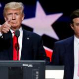 Donald Trumps tidligere kampagnechef Paul Manafort (th.) delte valgdata om præsidentvalget i 2016 med en russer, der har forbindelse til den russiske efterretningstjeneste.