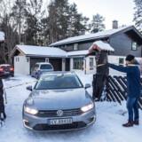 Det er fra denne villa i Norge, at Anne-Elisabeth Falkevik Hagen menes bortført onsdag 31. oktober 2018. Hun er gift med en af Norges rigeste mænd, forretningsmanden,Tom Hagen. Hans formue er på anslået 1,3 milliarder norske kroner.