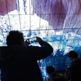 Besøgende lader sig fascinere under Consumer Electronics Show i Las Vegas.