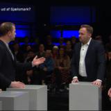En debat om forholdene for børnene på Udrejsecenter Sjælsmark fik torsdag aften Dan Jørgensen (S) til at blive forarget over Morten Østergaard (R).