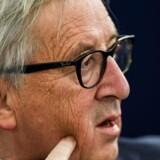 Kommissionsformand Jean-Claude Juncker ærgrer sig over nedstemningen af Mays skilmisseaftale i Underhuset. Nu er det op til Storbritannien at tage næste skridt, siger han.