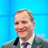 Stefan Löfven har ingen problemer med at samarbejde med Venstrepartiet, men holder sig fra Sverigedemokraterne.