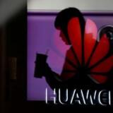 En sag mod Huawei for industrispionage mod et af USAs største teleselskaber er under opsejling i det konstant øgede pres mod den kinesiske telegigant. Arkivfoto: Aly Song, Reuters/Ritzau Scanpix