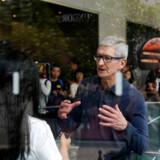 Apple-topchef Tim Cook vil ikke indføre ansættelsesstop men skruer ned for antallet af nyansættelser i koncernen. Arkivfoto: Aly Song, Reuters/Ritzau Scanpix